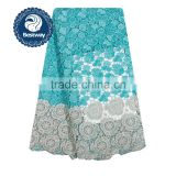 China guipure lace with stones CP0146 cord water souble lace fabric chemical cupion lace