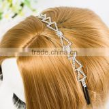 beauty girl crowns and tiaras speical tringle adjustable pageant crowns beauty pageant crown supplier