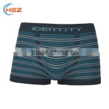 HSZ-0046 Seamless Wave Point With Stripes Underwear Sexy Gay Men Couple Underwear High Quality Sexy Boxer