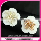 Natural pearl joker temperament brooch brooches awabi flowers