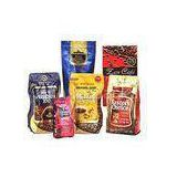 Custom Standup Pouch Coffee Packaging Bags with One-way Degassing Valve Aluminum Foil Material
