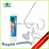 For Exterior Use Portable Medical Herbal Nasal Inhaler Blank