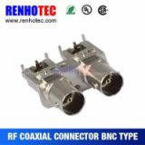 75ohm bnc plug male connector rg59 rg6 cable twist on bnc adapter