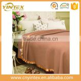 Yintex New thick wool blanket camel bed single blanket 200*220cm