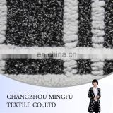 Wool/acrylic /polyester/viscose blend fabric with lower price for coat , knit jacquard dobby fabric