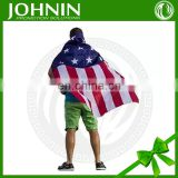 manufacturer top quality newest fashional american cape body usa flag