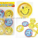 mini smile face maze game promotional kids toys