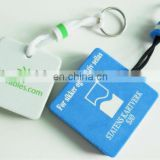 square EVA Foam Key Chain for Promotion