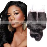Free Parting Human Hair Closure Piece Hot Sale Top Quality Cheap Silk Base Closure With Baby Hair