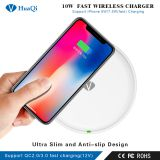 10W Fast Qi Wireless Charger Charging Pad for iPhone/Samsung/LG/Nokia/Huawei/Xiaomi