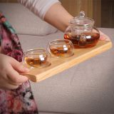 Wooden 3 Cup Tray,Coffee Cup Tray,Glass Cup Tray and Tea Cup Tray