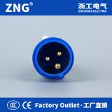 32A3P Industrial Plug IP44 Splashproof, 6h grounding 32A 2P+E Plug