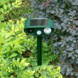 Solar Ultrasonic PIR Motion Sensor Dog Cat Repeller