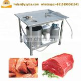 Stainless steel meat saline injecting machine for beef, industrial brine injector machine