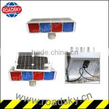 Safety Solar Power Flare Led Traffic Signal Light