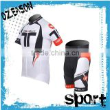 hot sale oem design garment custom cycling jerseys pants no minimum order
