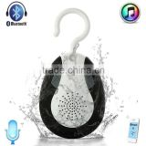 2015 Newly Waterproof Bluetooth Stereo Shower Speaker with FM Radio for home bathroom sports