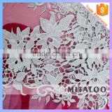 Mitaloo MFL0130 African White Lace Polyester Fabric Net Lace Nigeria Orange African Lace