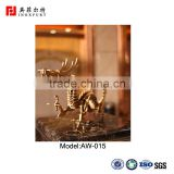 Chinese Golden Gragon wholesale antique metal 3d wall art decor