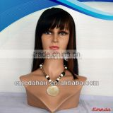 Hot sale high quality cheap aaaaa straight layered full lace wig