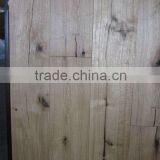 hand scraped horse nail & natural oiled oak flooring