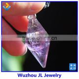 2014 china manufacturer direct sale New Design natural crystal agate Pendant pendulum pendant