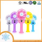 Chinese manufacturer custom printed folding plastic hand fan