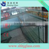 best acid curved glass for curtain wall unit with CE CCC