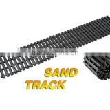 Popular 4x4 car accessaries rubber sand track /sand ladder with different size at options