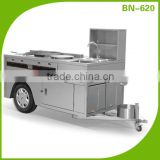 Cosbao Food Vending Trailer cars for sale Mobile Restaurant Trailer/snack trailer/fast food carts selling food truck (BN-620)