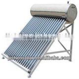 Low cost and Affordable Residential 200L Stainless Steel Solar Water Heater with Three Target Vacuum Tube from Haining