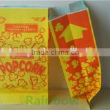 popcorn packaging bags/kraft paper bag for food packaging/microwave popcorn bags/newest design paper popcorn bags