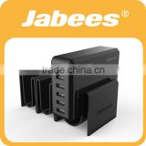 Jabees New Arrival QC 2.0 Broad Compatibility 6 Port USB Multi Super Fast Mobile Phone Super Charger