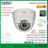 well to protect your life security using white light new technology colorful night vision cctv dome ccd camera