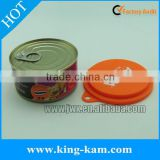 Universal dog food tin lids puppy food can cover silicone jars caps for pets food