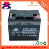Green Energy Solar Battery VRLA Battery 12V 24AH lead crystal Batteries forsale