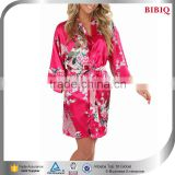 japanese kimono robe silk chinese printed bridesmaid cover up cheap women beach dresses                                                                         Quality Choice