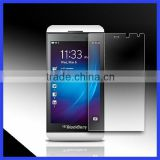 New Arrival Factory Prices Cell Phone Tempered Glass Screen Protector for Black Berry Z10