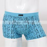 gold supplier Short boxer 95% cotton 5% spandex underwear OEM logo underwear sexy mens underwear