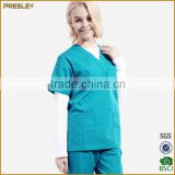 Factory Wholesale Customerized Hospital Medical Uniform/ Hospital Staff Uniforms of 100% Cotton With Cheap Price