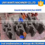 WANTE BRAND QT4-18 Concrete <b>interlocking</b> block <b>brick</b> making <b>machine</b> line from <b>Factory</b>
