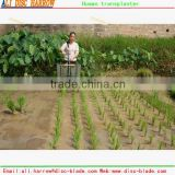 Good performance hand cranked rice transplanter 2016 HOT SALE                                                                         Quality Choice