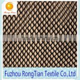 China suppliers sale polyester tricot K317 mesh fabric for luggage bags