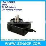 GFP121U-050200B-1 5V2A nom Mexico safety approved switching power supply,battery charger,ac /dc adapter