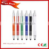 Newest model pen, business gift ball pen, promotion item thin metal pen