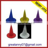 2014 New Design Colorful LED Halloween Hats With Hole in cap golf beret