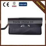 China factory custom wholesale black Ladies branded ladies leather wallets with CE certificate