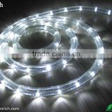 Round & Flat size Multi color LED rope Light LED christmas light For both indoor and outdoor