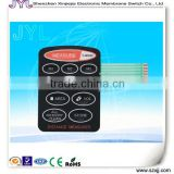 Distance Measure membrane switch/stickers/keypad/panel