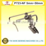 Industrial Sewing Machine Parts Needle Feed W/Qulter Guide Feet Single Needle P723-NF 5mm~50mm Presser Feet